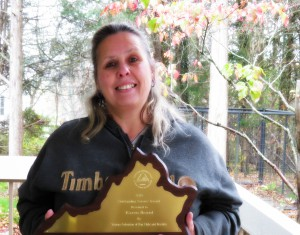 Congratulations to our Shelter Manager Karen Beard for the Virginia Federation of Dog Clubs and Breeders for her outstanding work with Rescues and dog adoptions.