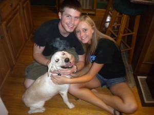 Aspen and her forever family